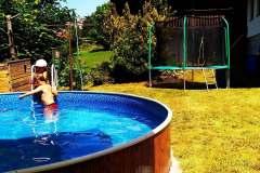 bazen a trampolina